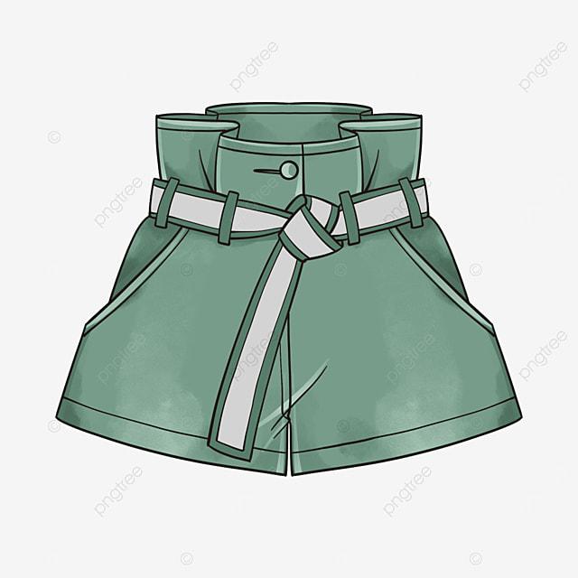 green shorts clipart