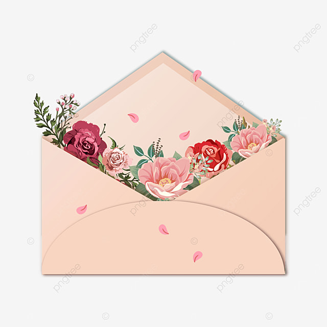 happy mothers day holiday flowers envelope