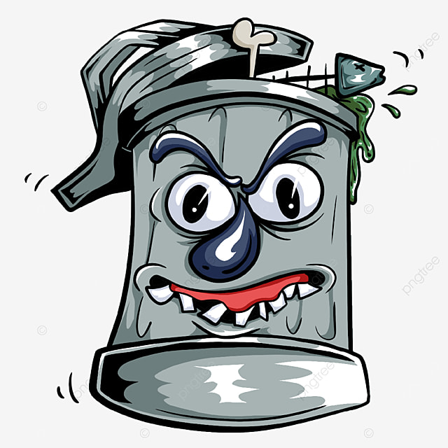 household trash bin clipart