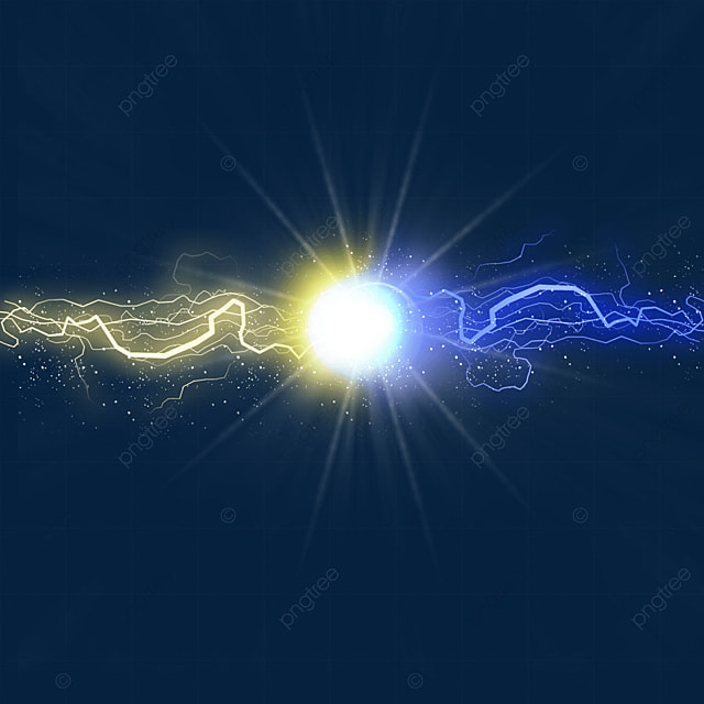light beam collision lightning abstract light effect