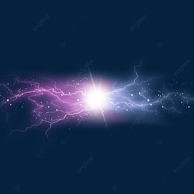light effect of beam collision