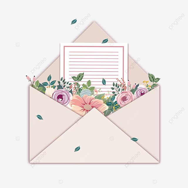 mothers day elegant floral envelope letter paper