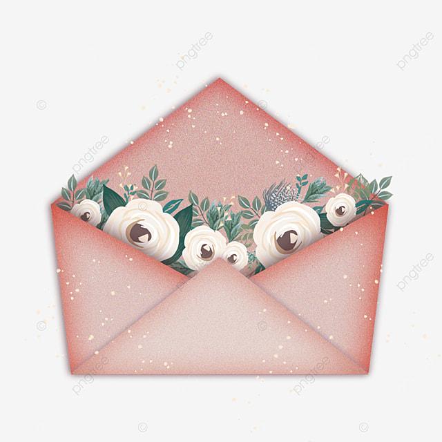 mothers day elegant floral envelope