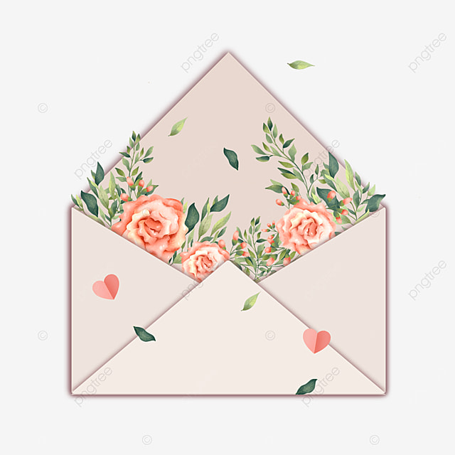 mothers day floral gift envelope