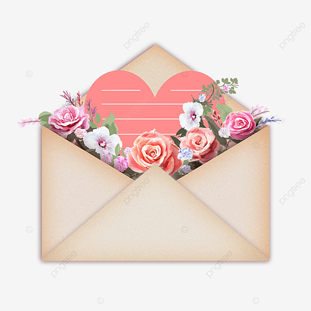 mothers day flowers gift envelope greeting card