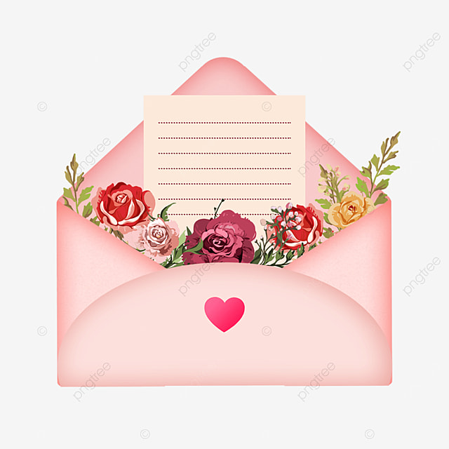 mothers day fresh floral envelope stationery