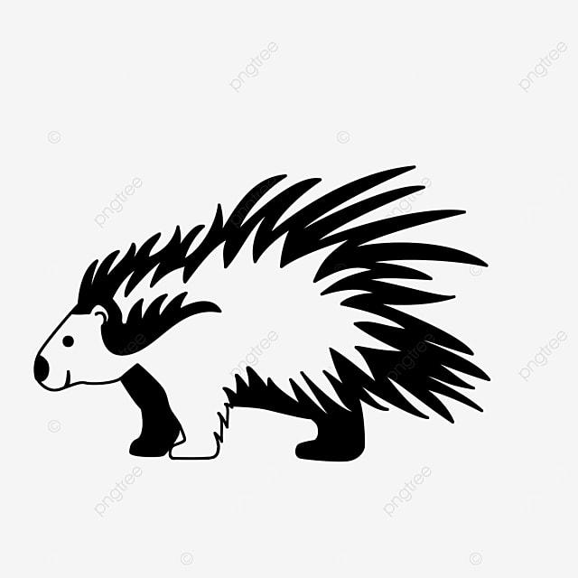 porcupine decoration clip art