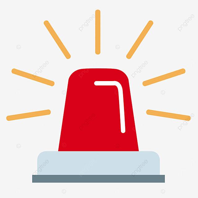 red alarm bell clip art