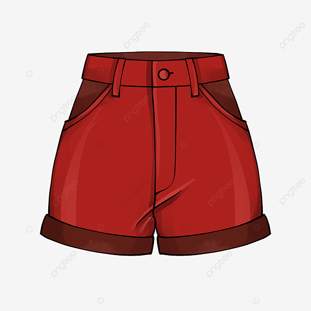 red shorts clipart