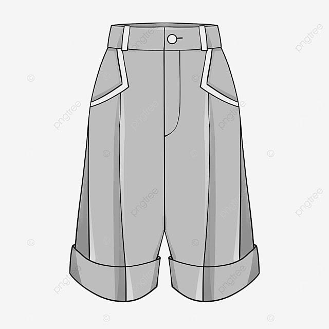 shorts clip art pocket