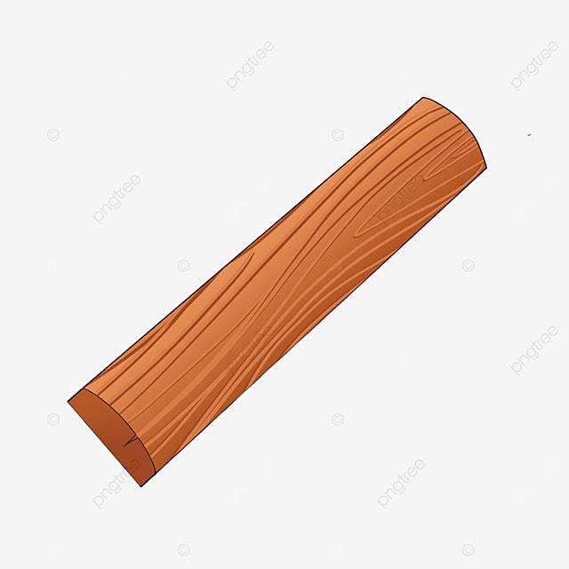 single plank wood clip art