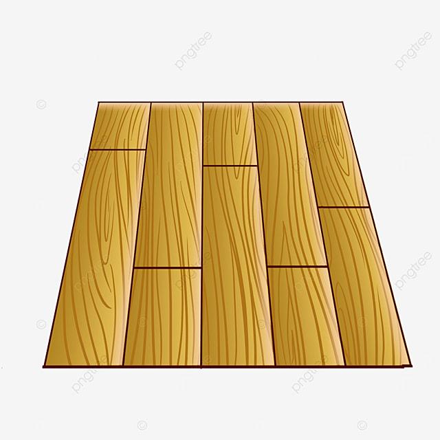 yellow floor wood clipart