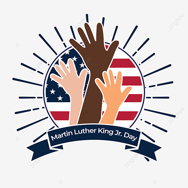 hand symbolizes equality independence human rights martin luther king jr day