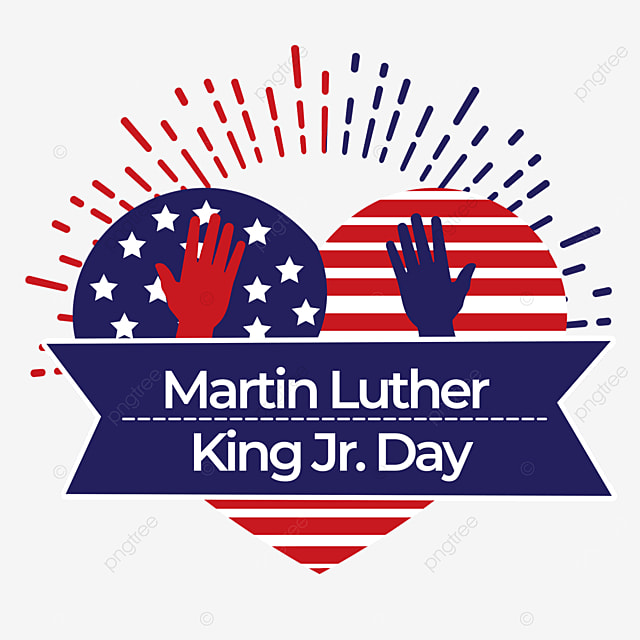 heart shaped palm human rights equality martin luther king jr day