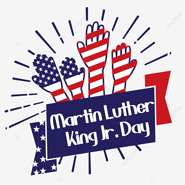 reaching for the national flag symbolizes independence and equality martin luther king jr day