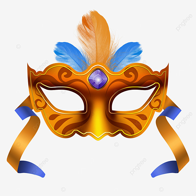 textured carnival ball mask