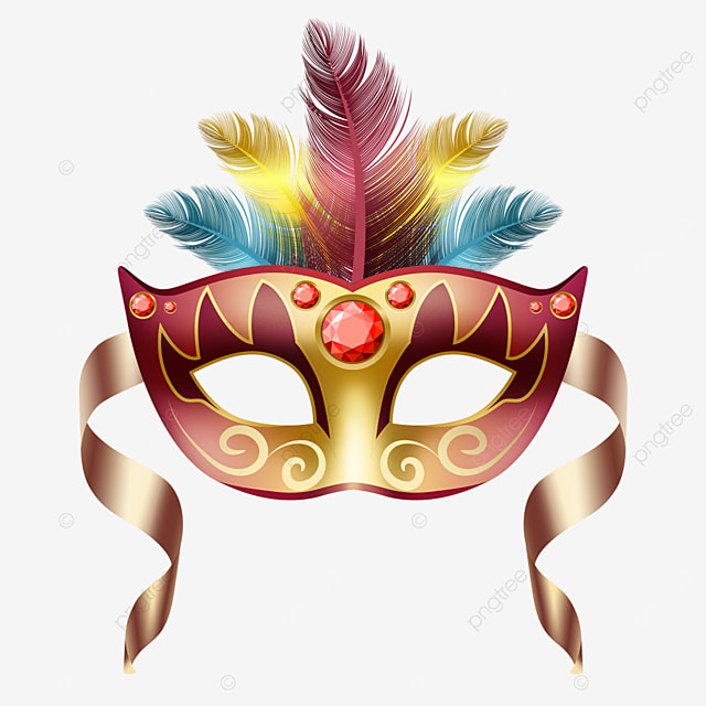 textured carnival masquerade mask