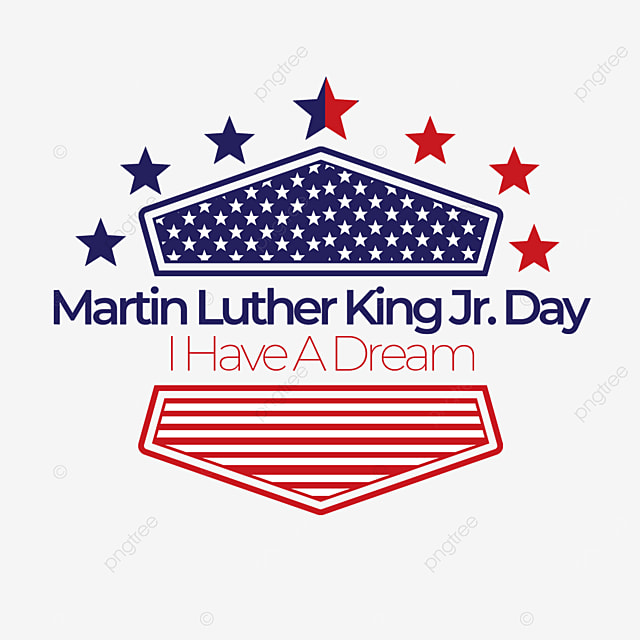 the stars decorate the martin luther king jr day of american independence human rights and equality