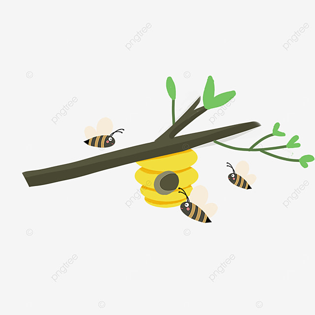 beehive clipart chubby little bee