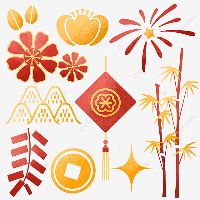 chinese new year decoration objects