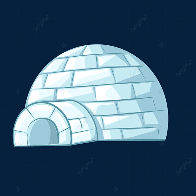 ice brick blue igloo