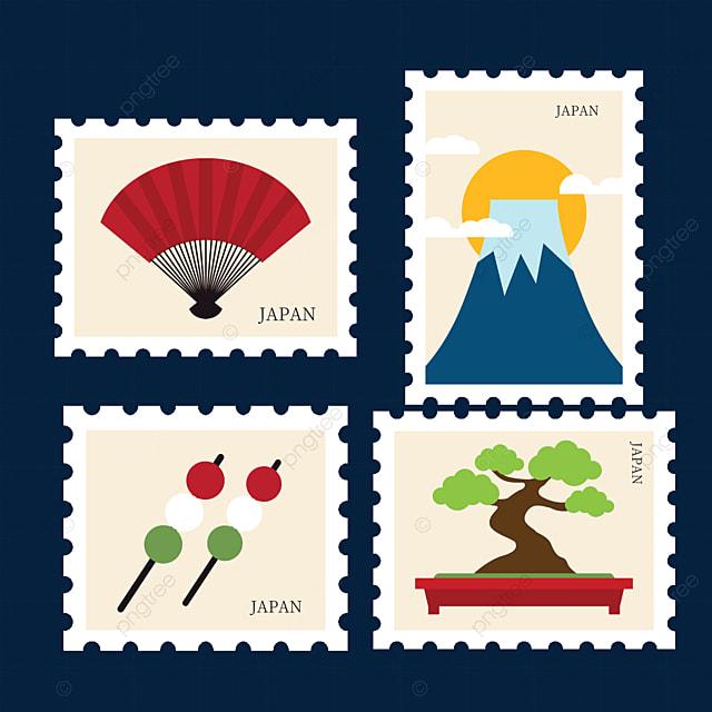japanese style stamp ideas