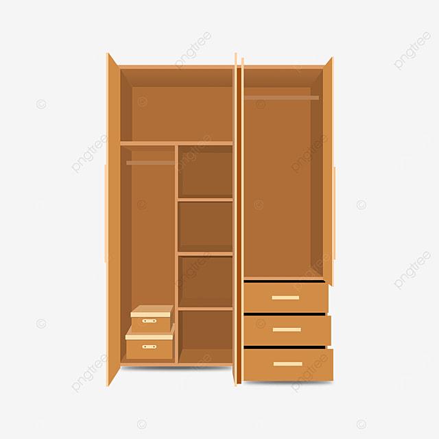multi door cupboard clip art