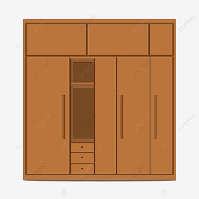 multi storey cabinet clip art