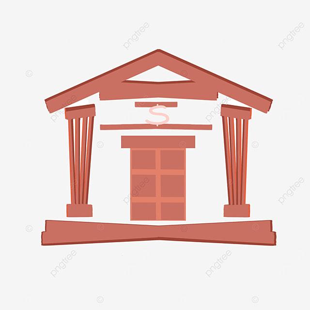 red bank cartoon clipart