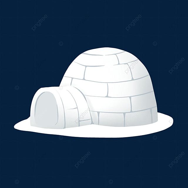 white igloo clip art