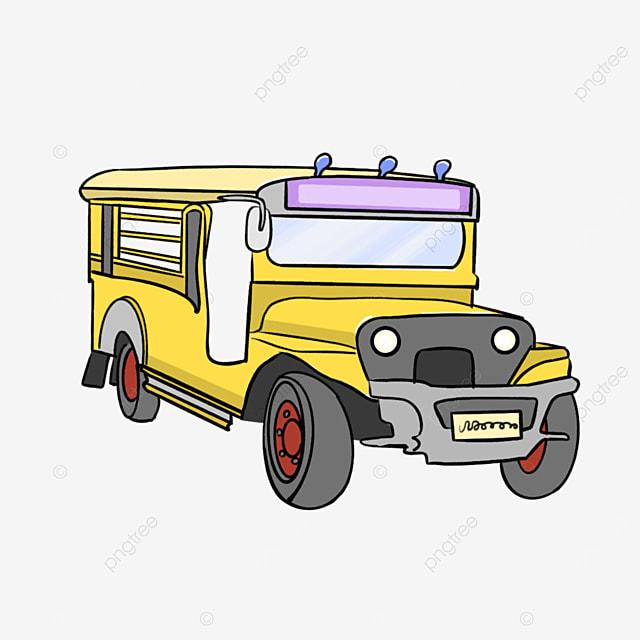 yellow jeepney clip art