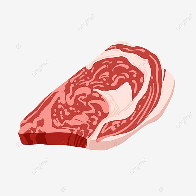 ingredients meat slices clip art