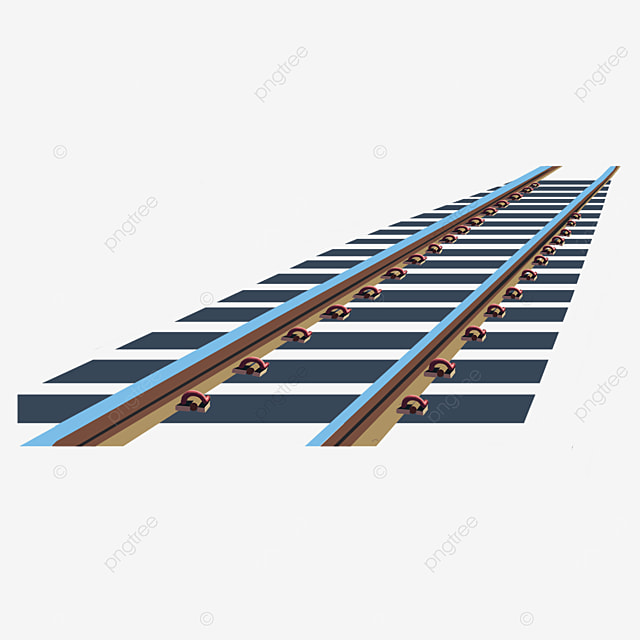 railway clip art sleepers train track high speed rail