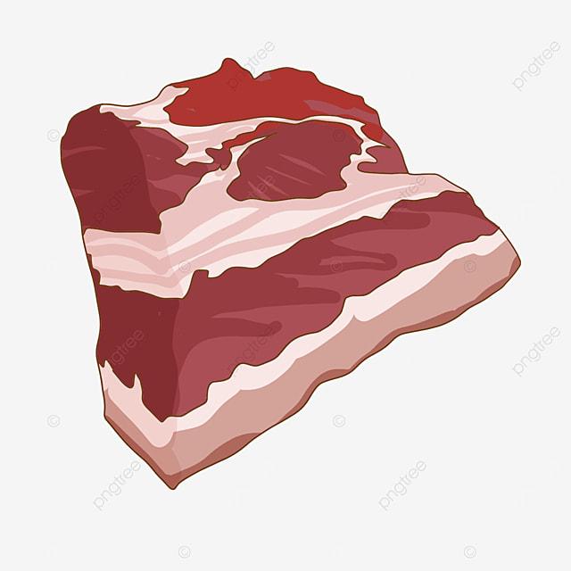 restaurant ingredients raw meat clipart