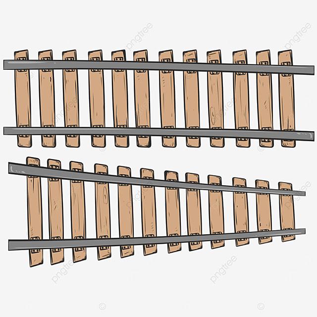 wooden railway clip art