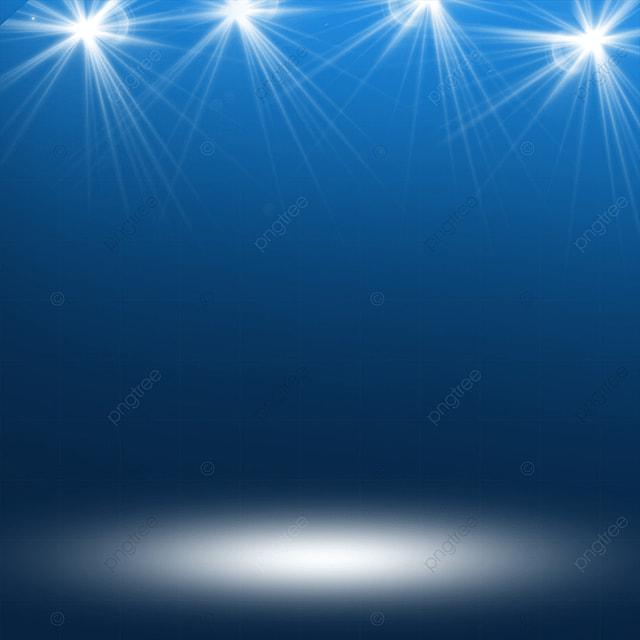 blue gradient stage color spotlight