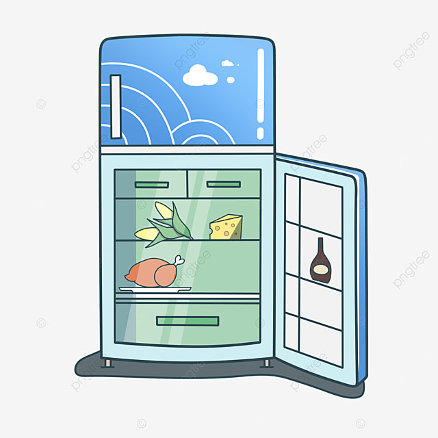 blue sky refrigerator clip art