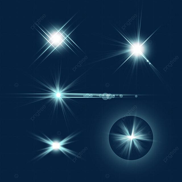 blue transparent radiation effect aperture combination
