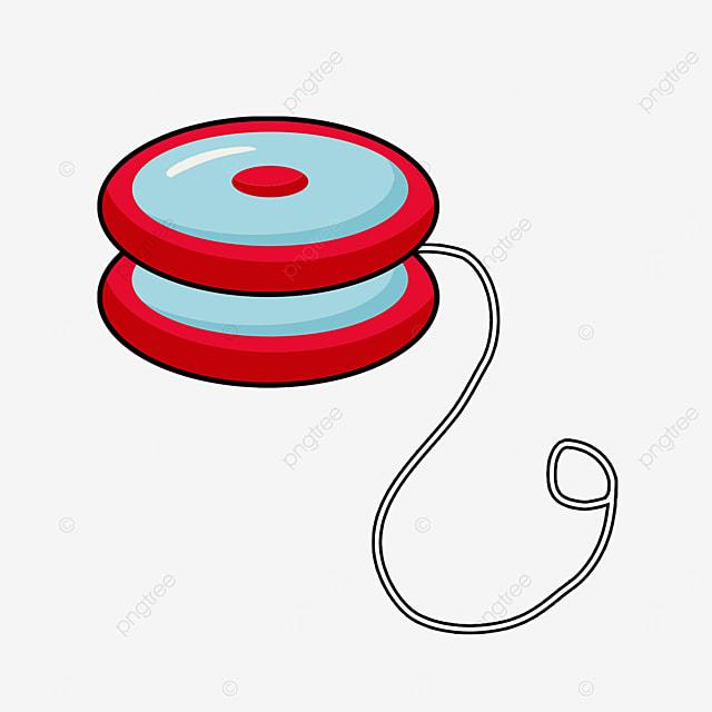 blue yo yo clip art
