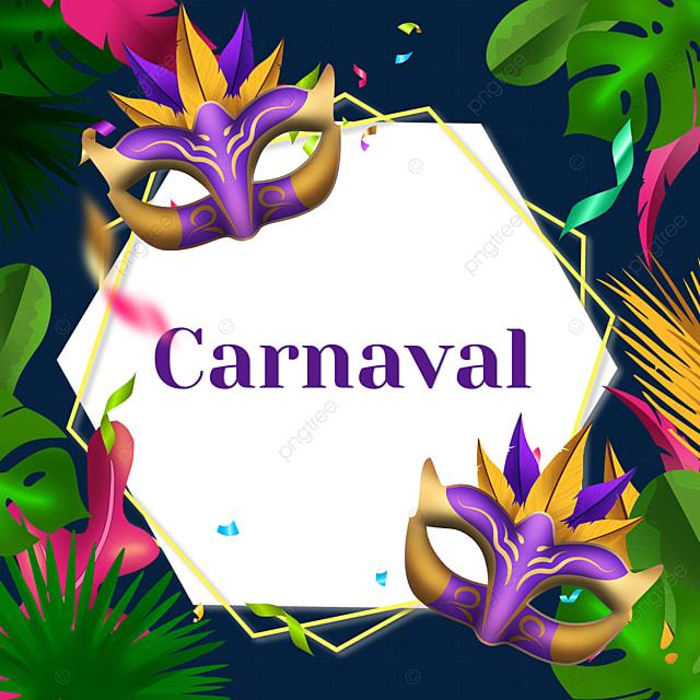 brazil carnival festival polygonal border