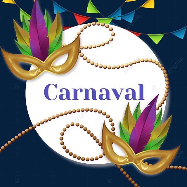 brazilian carnival festival round border