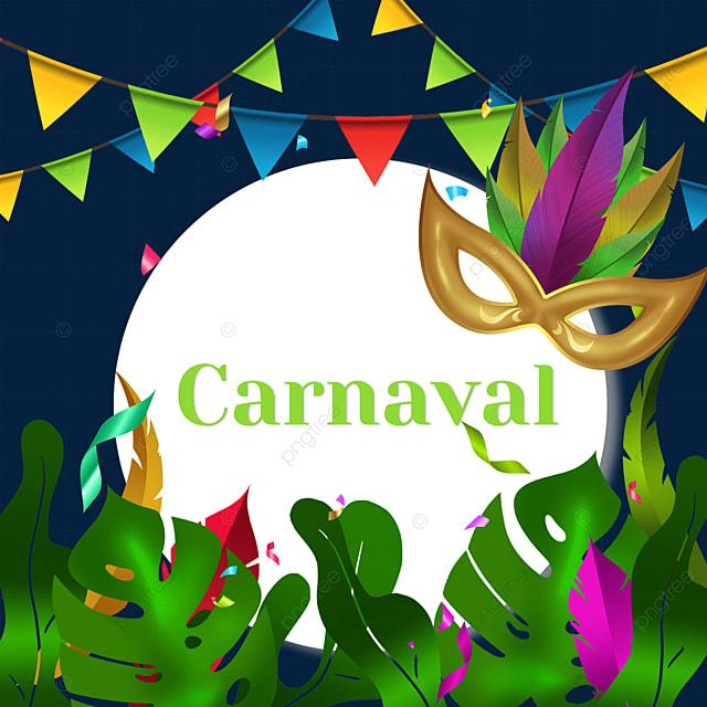 bunting brazilian carnival rhombus border