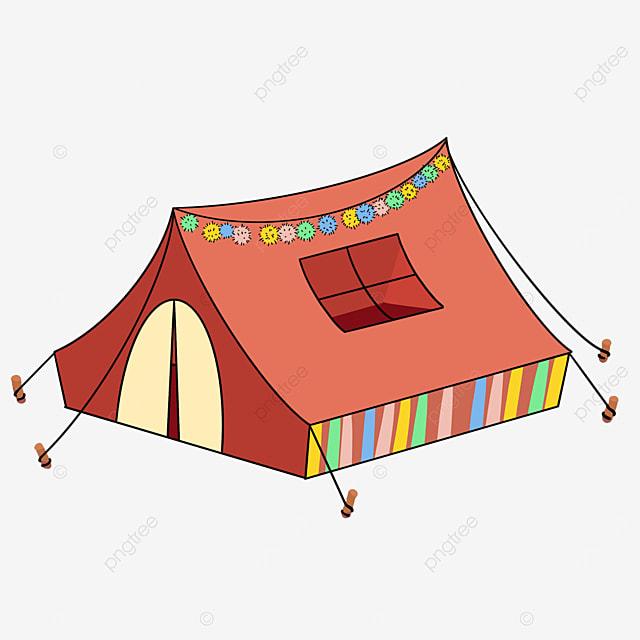 color tent clip art
