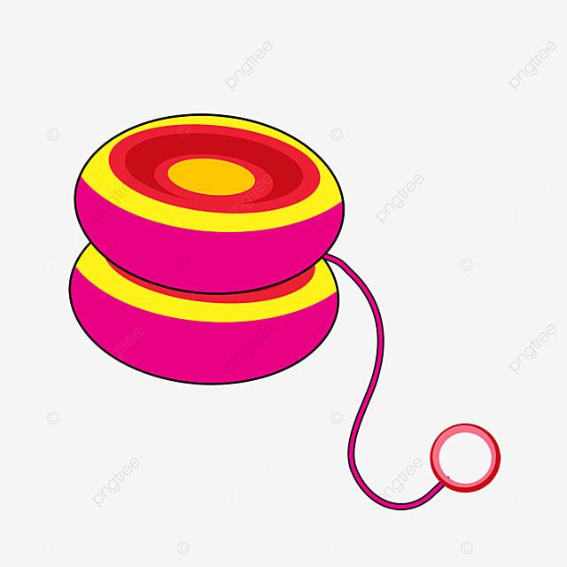 colored yo yo clip art