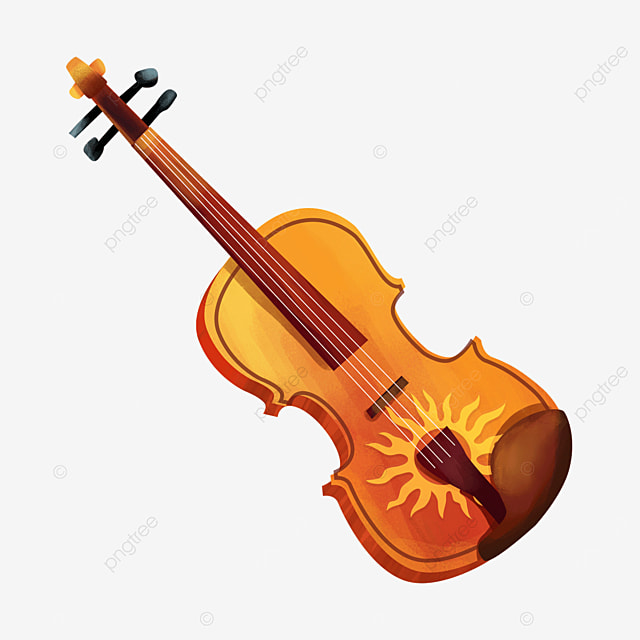 colorful floral pattern pattern violin clipart