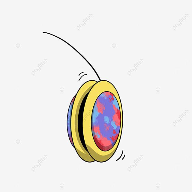 colorful yo yo clip art