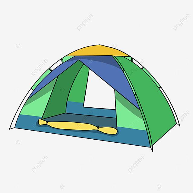 contrast color tent clip art