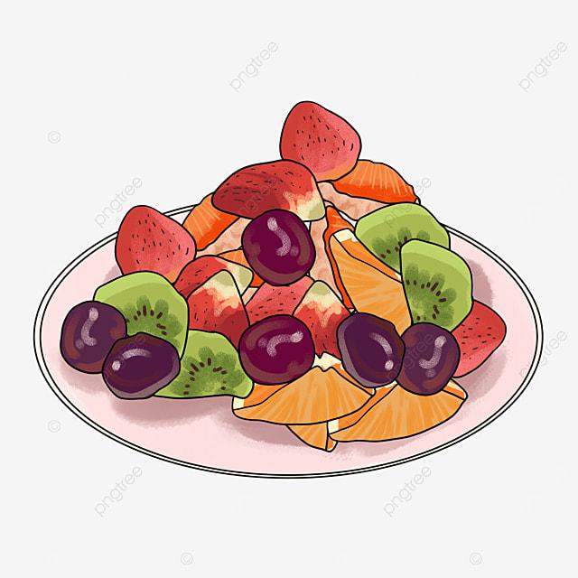 delicious tasty healthy salad clipart