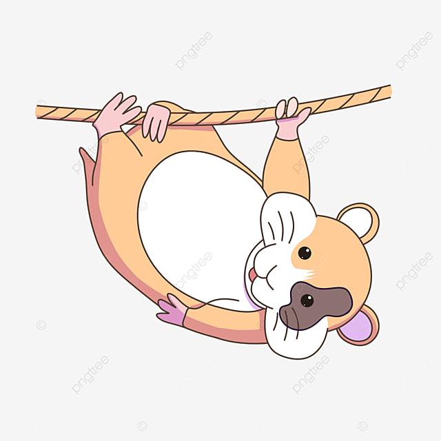fallen hamster clip art