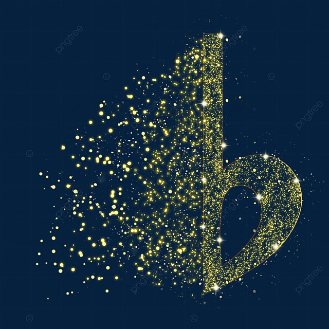 falling note music luminous light effect particles
